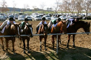Don-E-Brook riders taking a break @ IEL