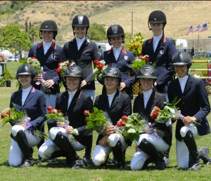 Brittany & 2011 Young Riders Team